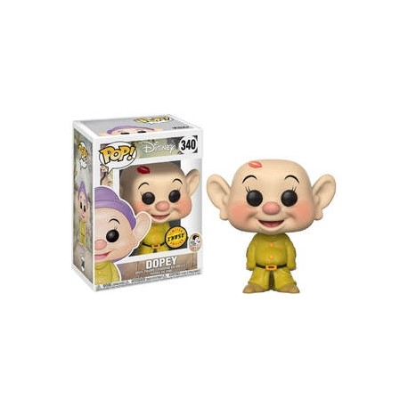 Funko POP! BLANCHE NEIGE Disney Snow White - Dopey Vinyl Figure 10cm