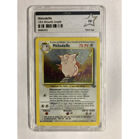 POKEMON CARTE TCG FRANCAIS insecateur ed 1 ERROR 10/64 pca 9