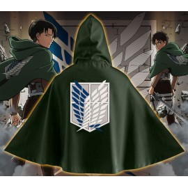 OFFICIAL COSPLAY CAPE BLASON SCOUT ATTACK ON TITAN ATTAQUE DES TITANS GATAKA
