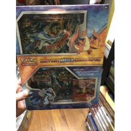 POKEMON COFFRET MEGA DRACAUFEU ORANGE 13/106 EX EN FRANCAIS Scellé