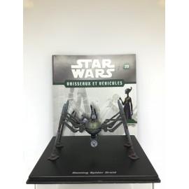 ATLAS STAR WARS VAISSEAUX ET VEHICULES le droide araignée shu mai