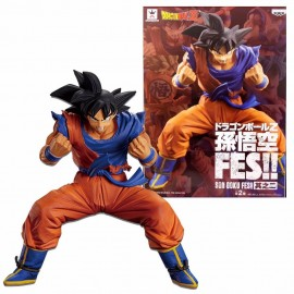 BANPRESTO DRAGON BALL SUPER - Figurine Son Goku Fes Vol 3 - Kaioh Ken Son Goku