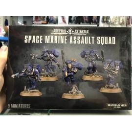 WARHAMMER 40 000 adeptus astartes space marine Assault Squad
