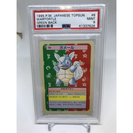 POKEMON 1995 japanese PSA9 topsun articuno blue back