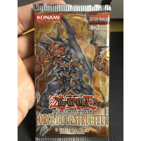 NEUF 1ere EDITION francais yu gi oh booster puissance absolue 2010
