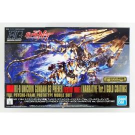 Bandai HGUC 217 Unicorn Gundam 03 Phenex Destroy Mode Narrative gold coating Ver. 1/144 Kit
