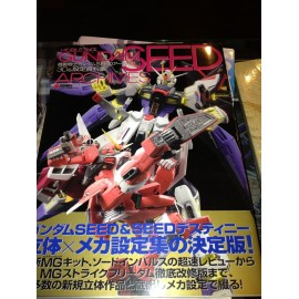 Artbooks Jap Mobile Suit Gundam Seed Archives artbook
