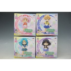 Pretty Guardian Sailor Moon Atsumete Figure for Girls Vol.4 4 Figures Banpresto Japan