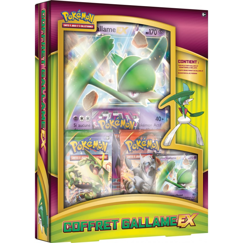 Produits speciaux carte pokemon coffret collection gallame - Photo de carte pokemon ex ...