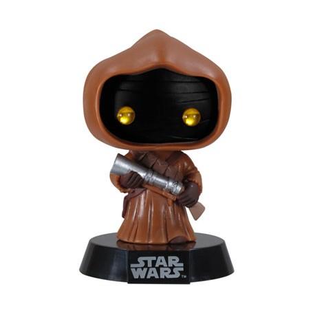 [ preco ] Star Wars POP! Vinyl Bobble Head Jawa Black Box Re-Issue 10 cm