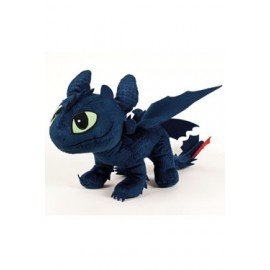 Dragons 2 Dragons peluche Toothless 40 cm croc mou