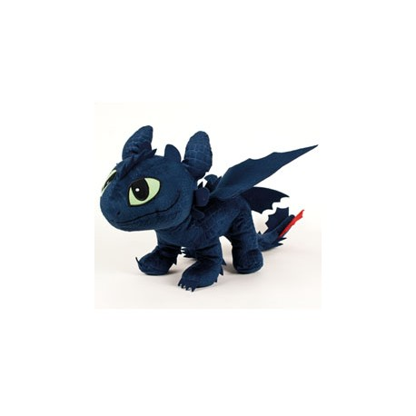 Dragons 2 Dragons peluche Toothless 26 cm croc mou
