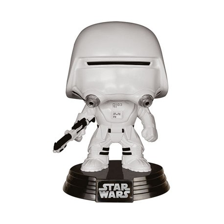 Star Wars épisode VII POP! Vinyl Bobble Head First Order Snowtrooper 10 cm