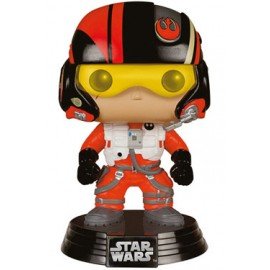 Star Wars episode VII POP Vinyl Bobble Head Poe Dameron 10 cm