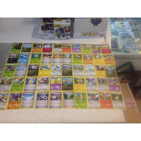 lot cartes Pokémon 50 cartes xy ciel rugissant sans double lot n°4