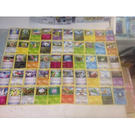 lot cartes Pokémon 50 cartes xy ciel rugissant sans double lot n°19