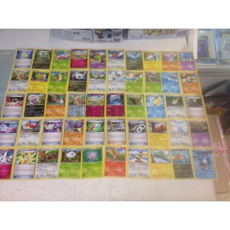 lot cartes Pokémon 50 cartes xy ciel rugissant sans double lot n°5