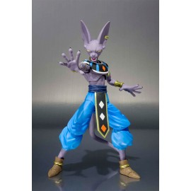 bandai DRAGON BALL SUPER BEERUS figuarts DIEU DE LA DESTRUCTION