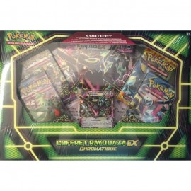 promo EXCLUSIVITE Pokémon Coffret COLLECTOR RAYQUAZA CHROMATIQUE EX Fr BOOSTERS X 5