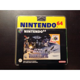 Nintendo 64 blister rigide star wars shadows of The empire jeux video retro gaming
