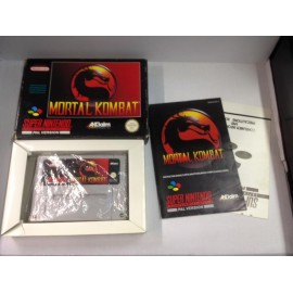 Super Nintendo mortal kombat jeux video retro gaming