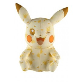 OFFICIEL POKEMON TOMY Pokemon peluche 20th Anniversary Special Pikachu Wink 25 cm