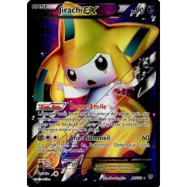 carte Pokemon JIRACHI EX 98/101FULL ART explosion plasma no display no booster