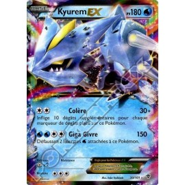 carte Pokemon KYUREM EX 30/101 explosion plasma no display no booster