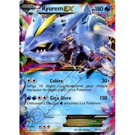 carte Pokemon GENESECT EX 97/101 FULL ART explosion plasma no display no booster