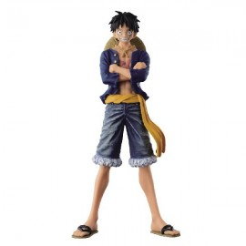 Banpresto ONE PIECE JEANS FREAK LUFFY 17 CM