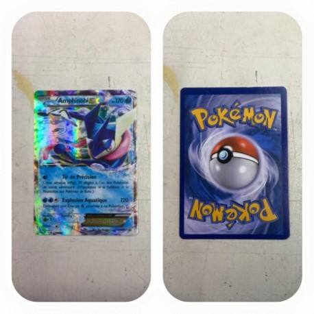 carte Pokemon 113/119 Elecsprint EX FULL ART francais no display no booster