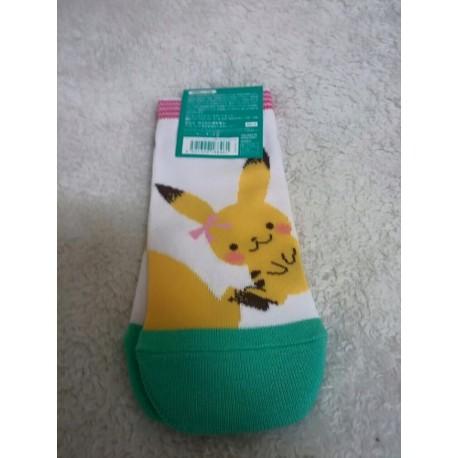 officiel pokemon center chaussette pokemon pikachu kimono