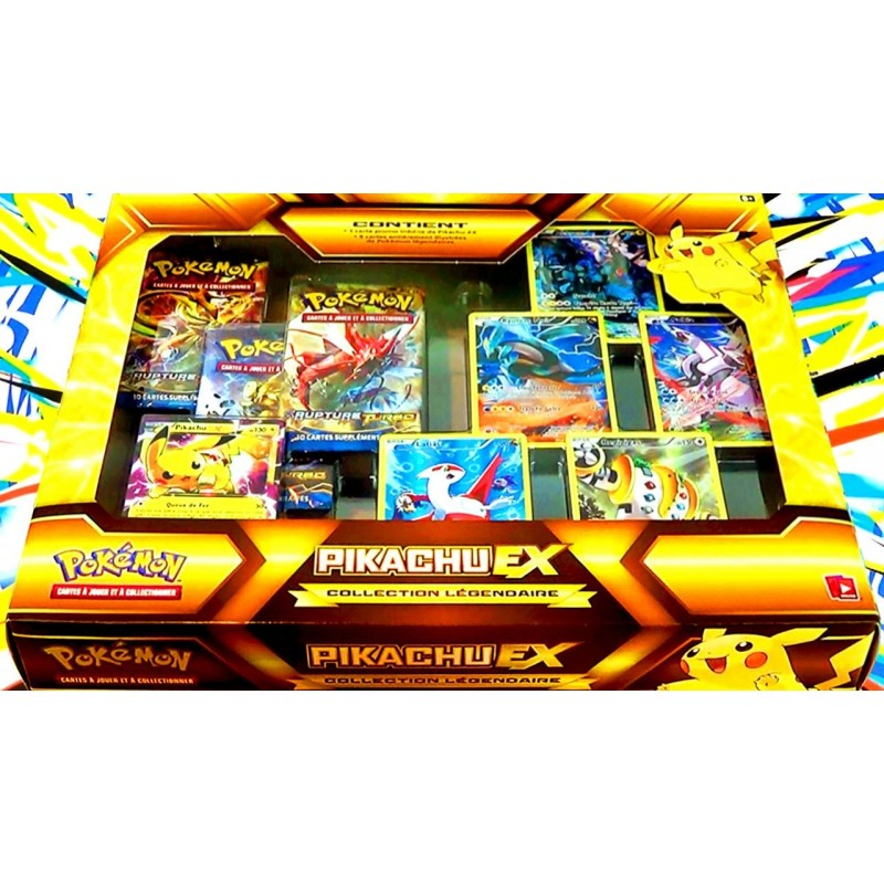 Promo produits speciaux carte pokemon coffret collection pikachu ex francais dream of figure - Tout les carte pokemon ex du monde ...