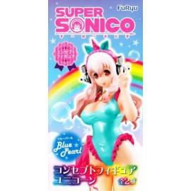 super Sonico Unicorn Figure White pearl anime Super Sonico FuRyu