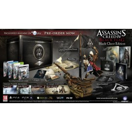 ULTRA RARE ubisoft PS3 Assassin's CREED THE BLACK CHEST EDITION FRANCAIS
