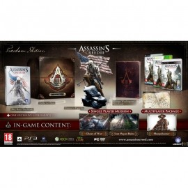 ULTRA RARE ubisoft Assassin's CREED III FREEDOM PS3 EDITION FRANCAIS