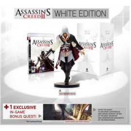 ULTRA RARE ubisoft PS3 Assassin's CREED II WHITE EDITION