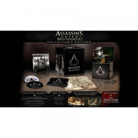 ULTRA RARE ubisoft PS3 ASSASSIN CREED BROTHERHOOD COLLECTOR EDITION FRANCAIS