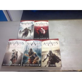ASSASSIN S CREED LOT DE 5 LIVRES DE POCHES