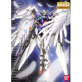 BANDAI MG 1/100 XXXG-00W0 WING GUNDAM ZERO Plastic Model Kit