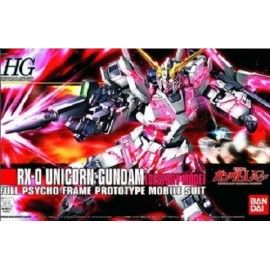 BANDAI HG GUNDAM RX-0 UNICORN DESTROY MODE Plastic Model Kit