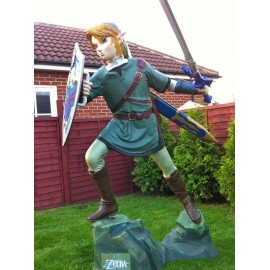 link de zelda Life-Size taille reel Statues