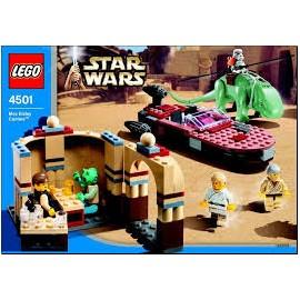 star wars LEGO ewok attack 7139 notice / mode emploi