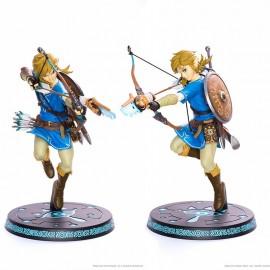 NINTENDO - Figurine Link The Legend of Zelda Breath of The Wild 25cm