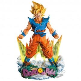 BANPRESTO Figurine DBZ - Son Goku Super Kamehameha