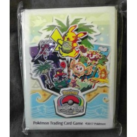 Pokemon World Championships 2017 ANAHEIM CALIFORNIA - Sleeves Protèges cartes