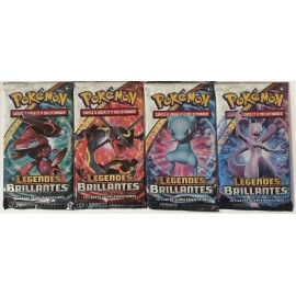 pokemon booster Coffret Pokemon Pin's MEWTWO Legendes Brillantes Soleil et Lune 3.5 neuf sceller officiel
