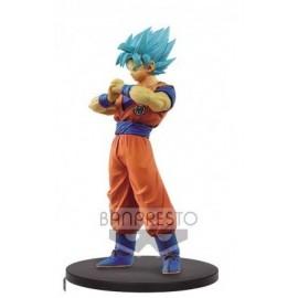 BANPRESTO Dragonball Super figurines Son Goku Fes SSJ Goku 20 cm
