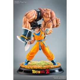 Dragon Ball Z The Quiet Wrath of Son Goku nappa BY TSUME