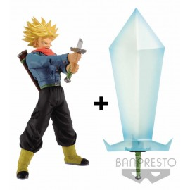 BANPRESTO DRAGON BALL SUPER - Bi-Pack : Super Saiyan 2 Trunks + Blade of Hope